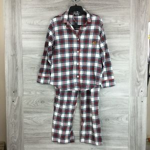 Lauren By Ralph Lauren Plaid Pajama Set